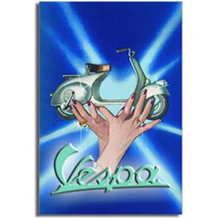 """Product Image for 'Postcard FORME """"Vespa - carried on hands""""Title'"""