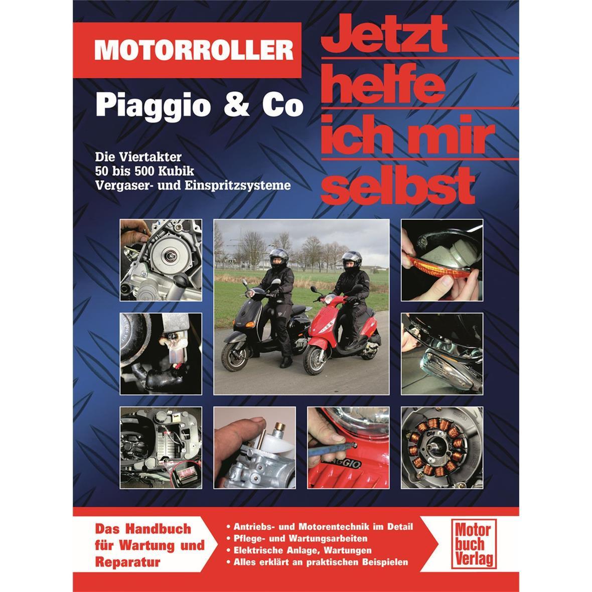 """Product Image for 'Hand Book """"Jetzt helfe ich mir selbst"""" Vespa, Piaggio & Co. - Die Viertakter 50 bis 500 KubikTitle'"""