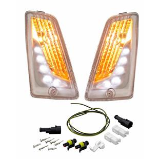 Product image for 'Indicator Kit PIAGGIO LED daytime running lamps frontTitle'