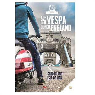 """Product image for 'Book """"Auf der Vespa durch England""""Title'"""