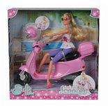 """Product image for 'Doll """"Steffi LOVE Chic City Scooter""""Title'"""