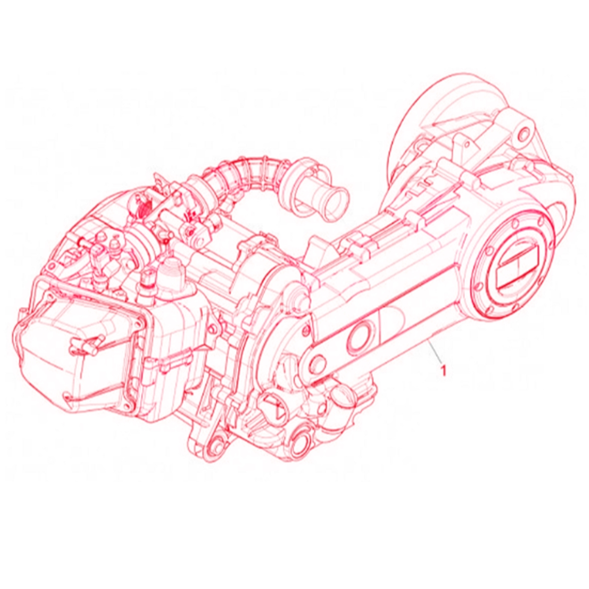 Product Image for 'Engine PIAGGIO Euro 4Title'