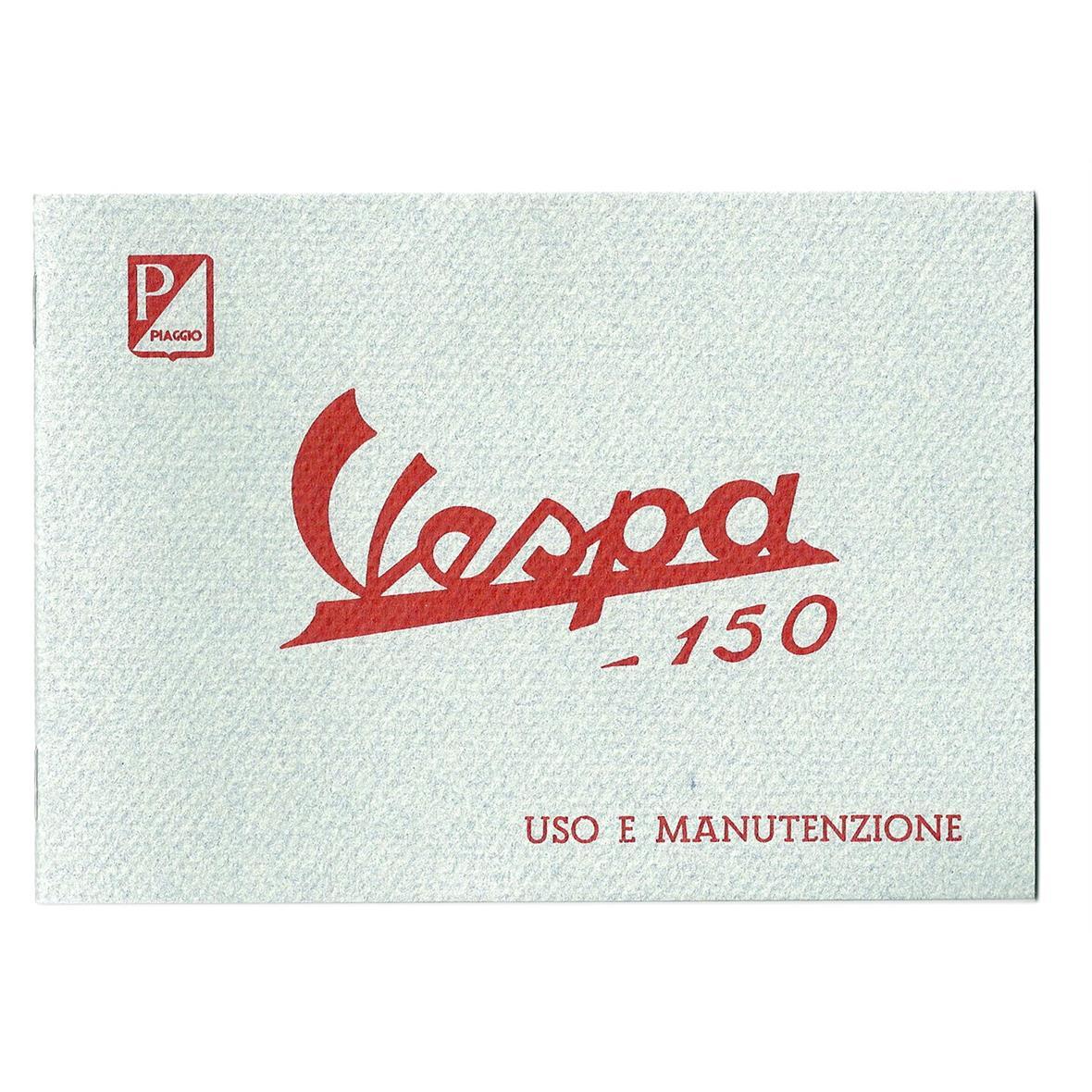 Product Image for 'Instruction Manual PIAGGIO Vespa 150 1957Title'
