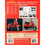 Product Image for 'Hand Book HAYNES Vespa P/PX125, 150 & 200 (incl. LML Star 2T) '78-'14 service & repair manualTitle'