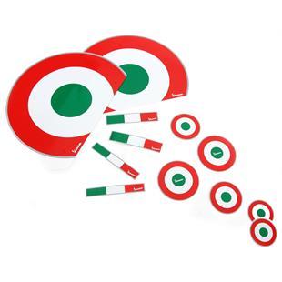"Product Image for 'Sticker Decoration Set PIAGGIO ""Italian Style""Title'"