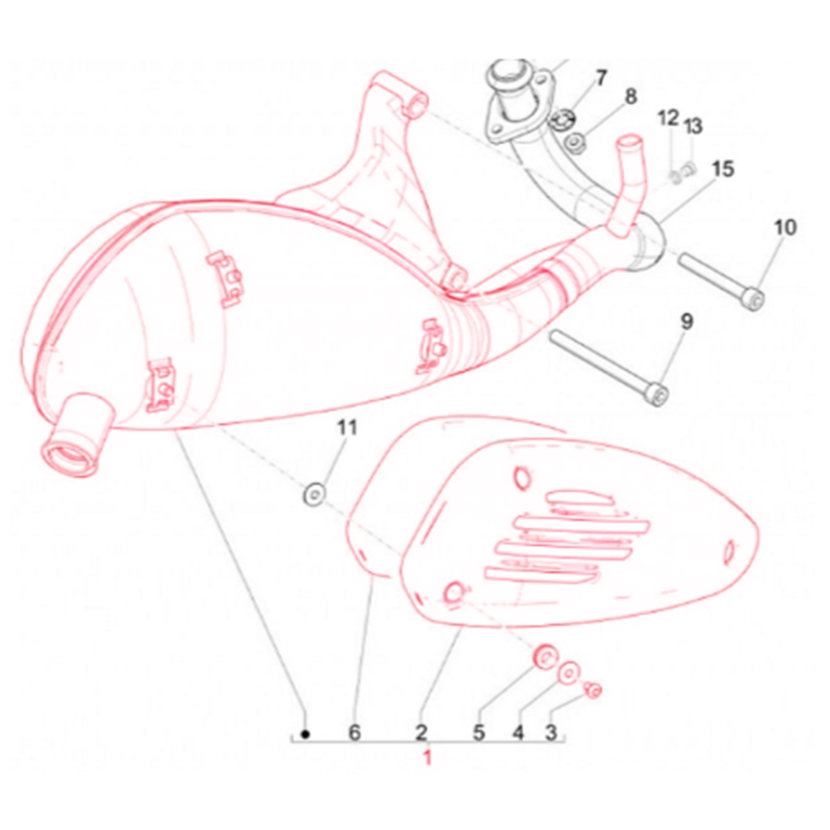 Product Image for 'Exhaust PIAGGIOTitle'