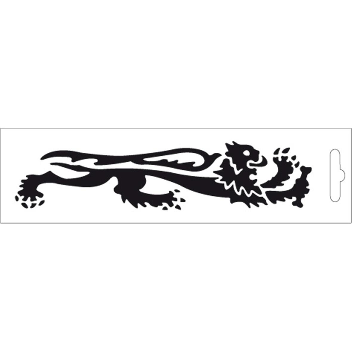 Product Image for 'BLACK LION STICKER - RIGHT 16,6 cmTitle'