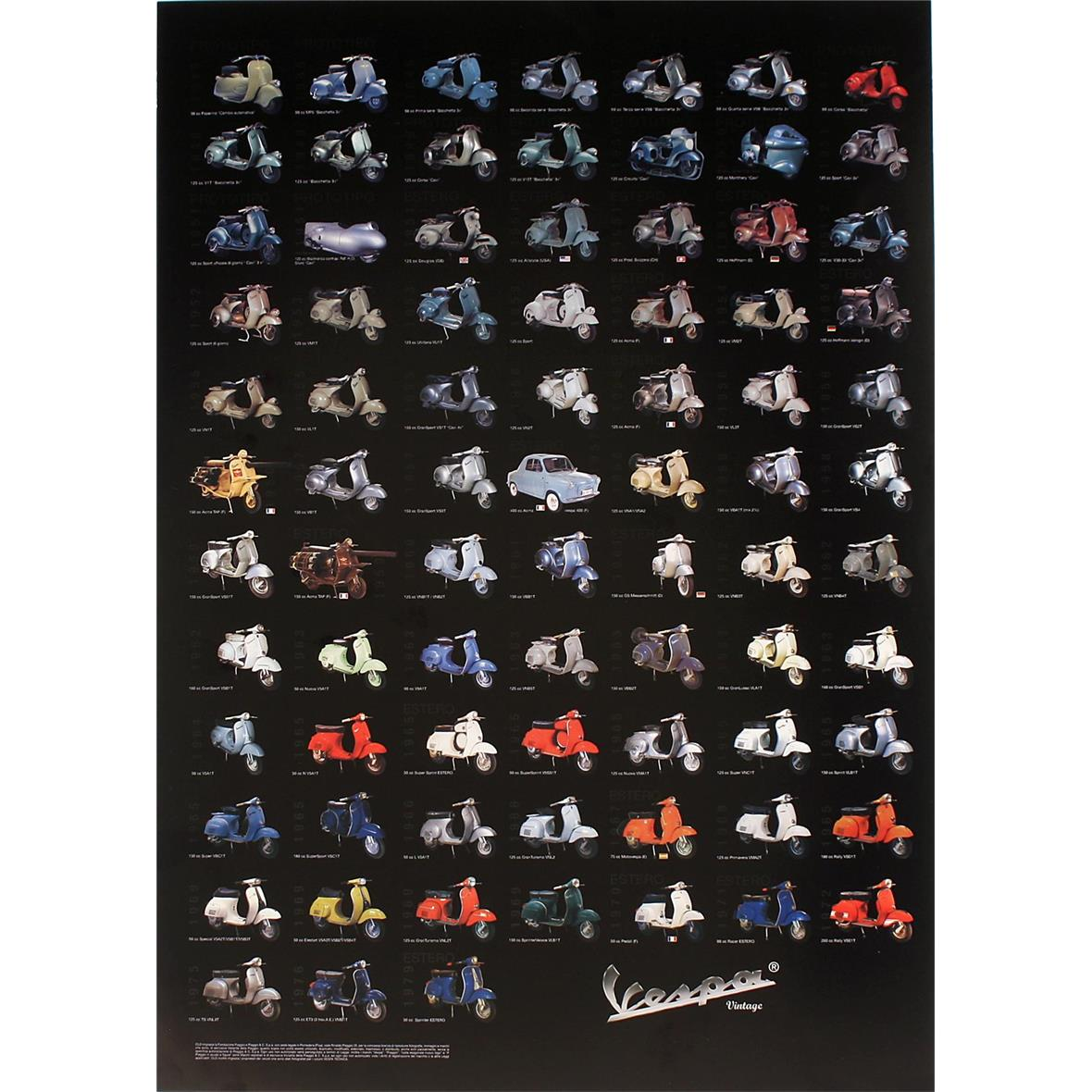 "Product Image for 'Poster ""Vespa Model IV""Title'"