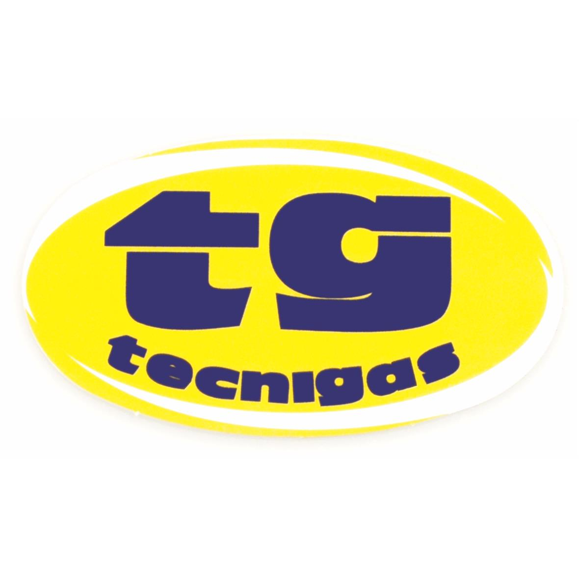 Product Image for 'Sticker TECNIGAS logo ovalTitle'