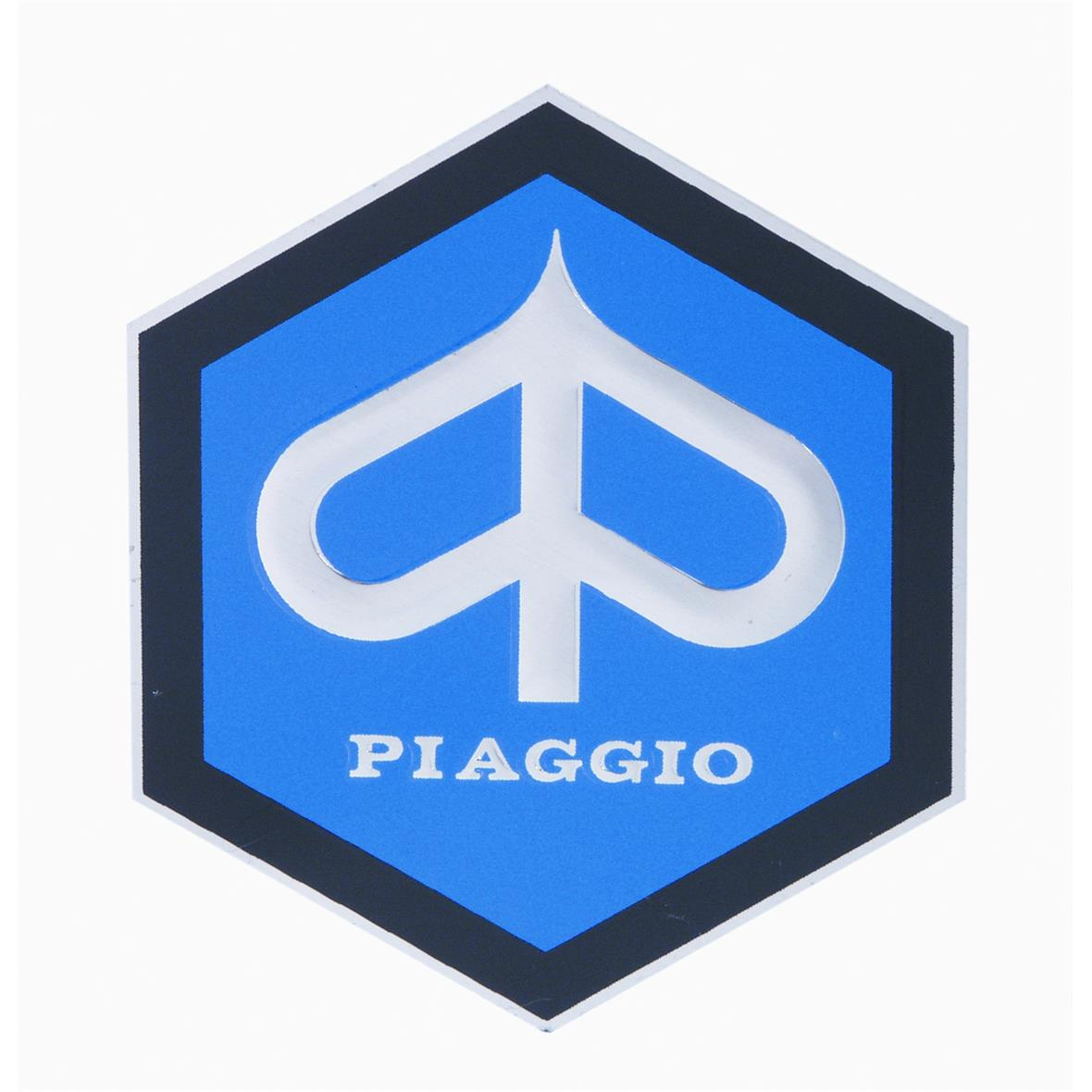 Product Image for 'Emblem PIAGGIO Hexagon horncoverTitle'