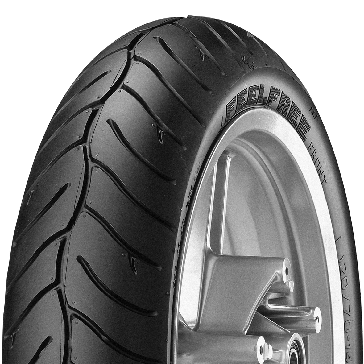 """Product Image for 'Tyre METZELER FEELFREE Front 120/70R-14"""" 55H TL M/C front & rearTitle'"""