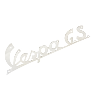 """Product image for 'Badge """"Vespa GS"""" legshield frontTitle'"""