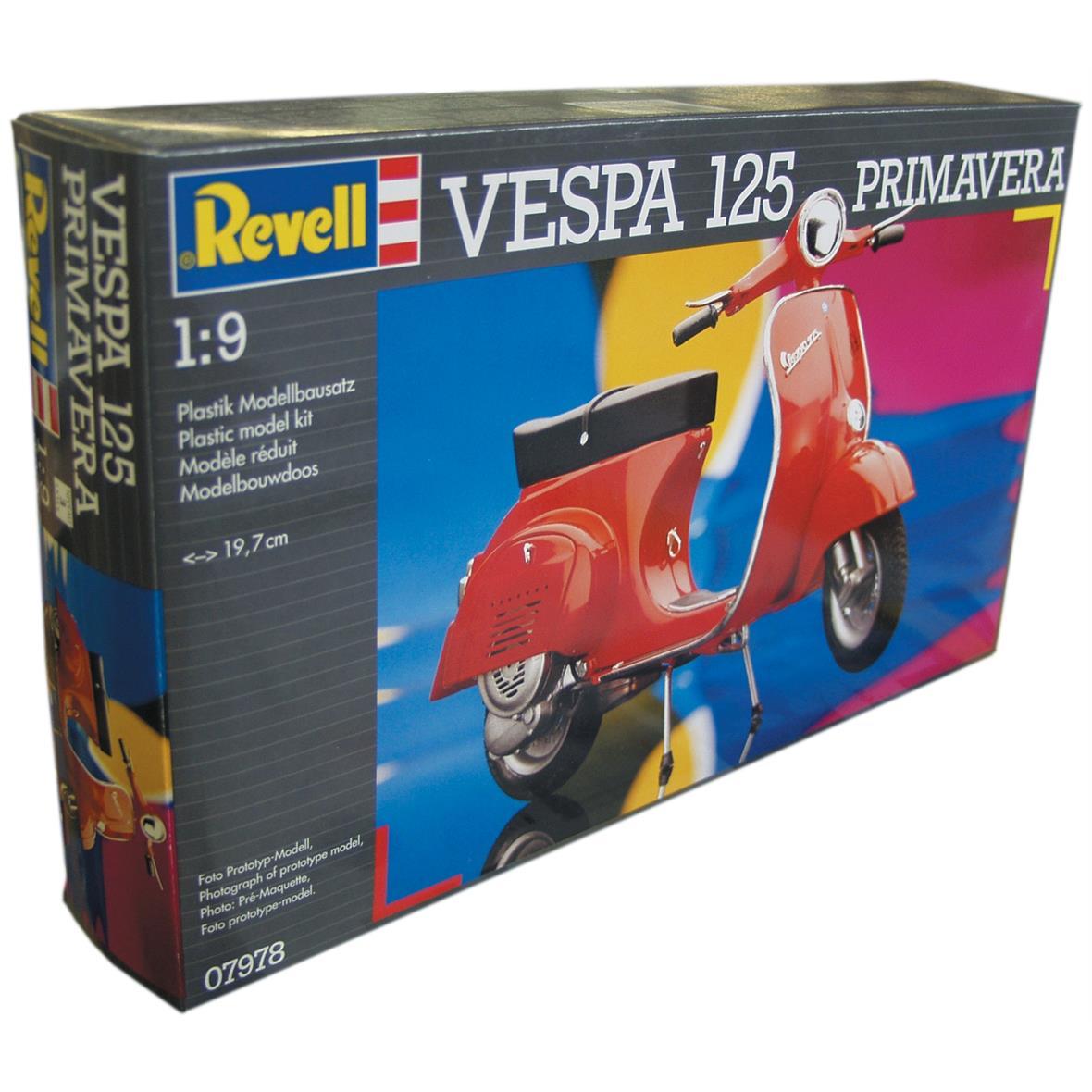 "Product Image for 'Model ""Vespa ET3/Primavera"",kit, scale 1:9Title'"
