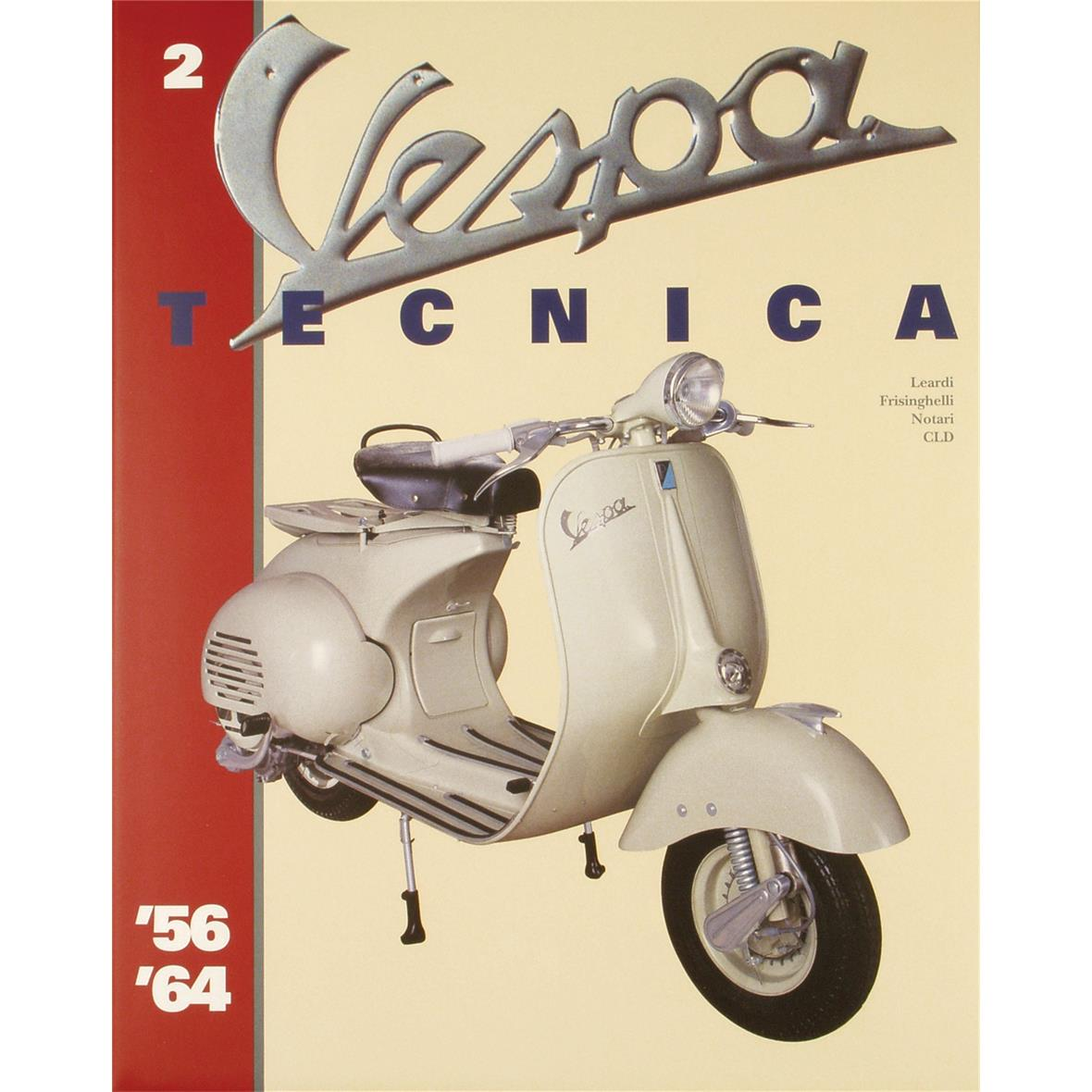 """Product Image for 'Hand Book """"Vespa Tecnica 2"""" 1956/1964Title'"""
