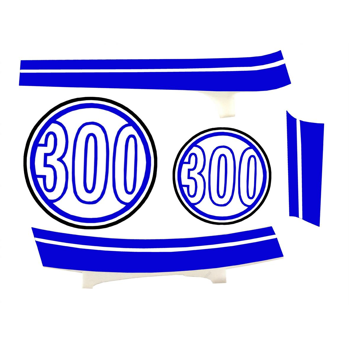 "Product Image for 'Sticker Decoration Set PIAGGIO ""300""Title'"