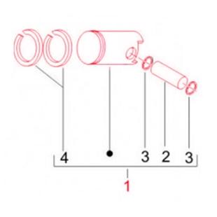 Product image for 'Piston PIAGGIO StandardTitle'