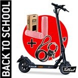 """Product Image for 'E-Scooter """"BACK TO SCHOOL"""" Bundle TRITTBRETT Kalle with (rose) VANS grips and Materlock StreetcuffTitle'"""