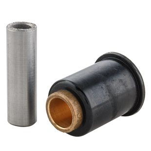 Product image for 'Rubber Engine Mounting Bush shock absorber plate 29x32x15 mm, rear, reinforced, PLCTitle'