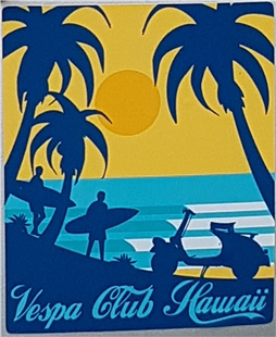 Product Image for 'Sticker Vespa Club HawaiiTitle'