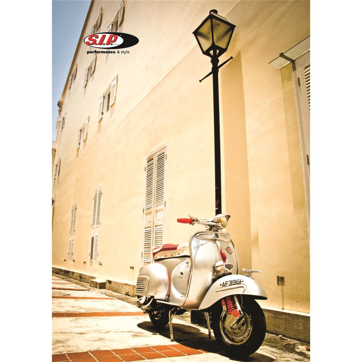 Product Image for 'Postcard SIP Store Vespa FranceTitle'