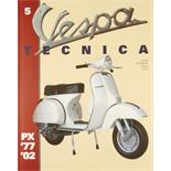 "Product Image for 'Hand Book ""Vespa Tecnica 5"" PX 1977/​2002Title'"