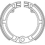 """Product image for 'Brake Shoes POLINI 8""""/9""""/10"""", frontTitle'"""