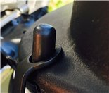 Product image for 'Helmet Hook JAILBREAK CUSTOMS, underneath seatTitle'