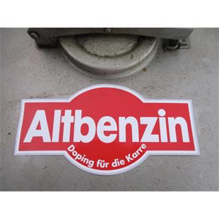 "Product Image for 'Sticker ""Altbenzin""Title'"