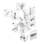 Imagen del producto para '53030 SCREW KIT for SLIDE REG. SHA 10..-Title'