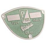 """Imagen del producto para 'Placa tipo """"ACMA Paris""""Title'"""