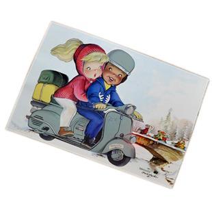 Imagen del producto para 'Tarjeta de saludo Memory Ferrándiz con motivo VespaTitle'