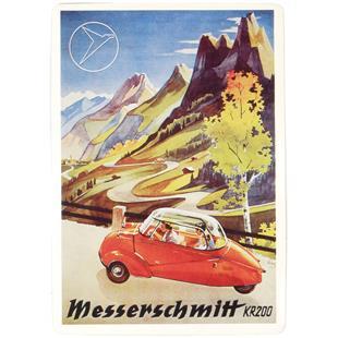 Imagen del producto para 'Placa de metal MESSERSCHMITT KR200Title'