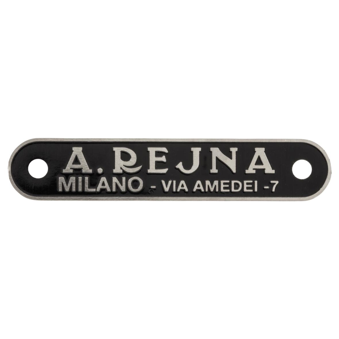 "Imagen del producto para 'Logotipo ""A.Rejna"" asiento monoplaza/sillinTitle'"