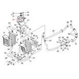 Imagen del producto para 'Abrazadera de apriete depósito de agua de refrigeración Ø 15,3 mm, PIAGGIOTitle'