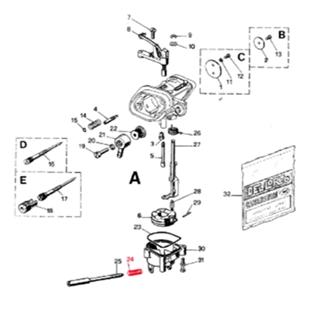 Imagen del producto para 'Muelle DELL'ORTO tornillo ralentíTitle'