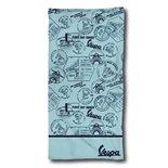 Imagen del producto para 'Toalla Vespa Meeting talla: 80x160cmTitle'