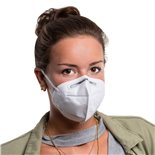Imagen del producto para 'Máscara respiratoria, KN95 FFP2Title'