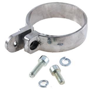 Imagen del producto para 'Abrazadera de fijación Handmade TT silenciador, LEOVINCETitle'
