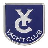 """Image du produit 'Insigne """"Yacht Club"""" boite à gant'"""