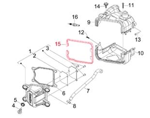 Image du produit 'Joint cache cylindre PIAGGIO'