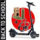 """Image du produit 'E-Scooter """"BACK TO SCHOOL"""" Bundle TRITTBRETT Kalle avec poignées VANS (olive) et Masterlock Streetcuff'"""
