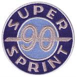 """Image du produit 'Insigne cousue """"SUPER SPRINT 90""""'"""