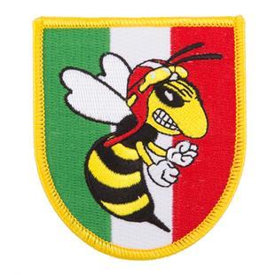 Image du produit 'Insigne cousue blason méchante guêpe, Italie'