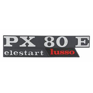 """Image du produit 'Insigne """"PX80 E Lusso elestart"""" aile gauche'"""