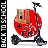 """Image du produit 'E-Scooter """"BACK TO SCHOOL"""" Bundle TRITTBRETT Kalle avec poignées VANS (marron clair) et Masterlock Streetcuff'"""