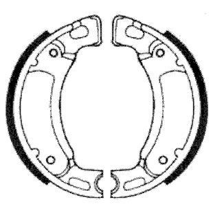 Image du produit 'Mâchoires de frein RMS'