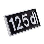 """Image du produit 'Insigne """"125dl""""'"""