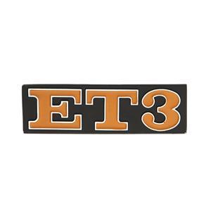 """Image du produit 'Insigne """"ET3"""" arrière arrière'"""