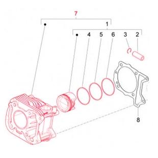 Image du produit 'Cylindre PIAGGIO'