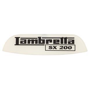 Image du produit 'Insigne Lambretta SX 200 arrière'